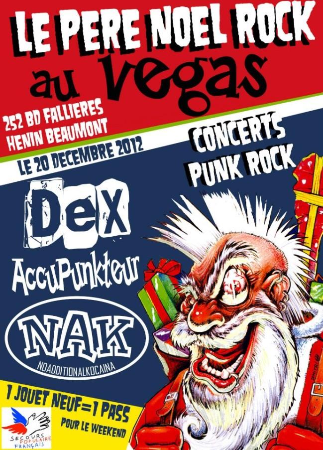 Affiche-Pere-Noel-Rock-Vegas-20-12-12