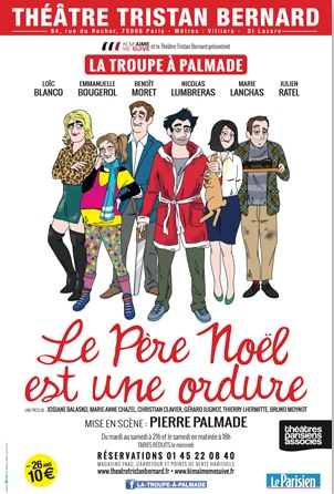 affiche_pere_noel_ordure_troupe_palmade